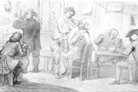 Bild-Nr: 30009188 Hogarth, Morning toilet / drawing Erstellt von: Hogarth, William