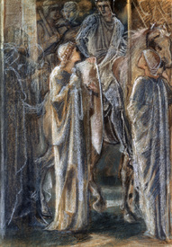 Bild-Nr: 30009204 E.Burne-Jones, Study for Departure of... Erstellt von: Burne-Jones, Edward