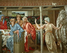 Bild-Nr: 30009222 King Arthur / Round Table / Burne-Jones Erstellt von: Burne-Jones, Edward