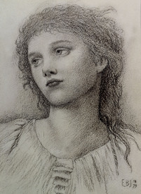 Bild-Nr: 30009226 E.Burne-Jones, Study  for 'Wine of Circe Erstellt von: Burne-Jones, Edward