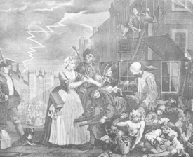 Bild-Nr: 30009315 Hogarth / Arrest / The Rake's Progress Erstellt von: Hogarth, William