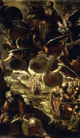Bild-Nr: 30009441 Tintoretto, Ascension of Christ Erstellt von: Tintoretto, Jacopo