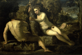 Bild-Nr: 30009499 The Fall from Grace / Tintoretto Erstellt von: Tintoretto, Jacopo