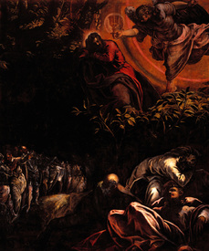 Bild-Nr: 30009507 Tintoretto, Christ at Mount of Olives Erstellt von: Tintoretto, Jacopo