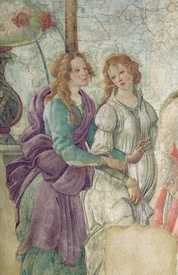 Bild-Nr: 31000115 Detail of Venus and the Graces offering gifts to a young girl, 1486 Erstellt von: Botticelli, Sandro
