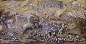 Bild-Nr: 31000154 The Battle of Flodden Field, 1882 Erstellt von: Burne-Jones, Edward