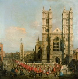 Bild-Nr: 31000162 Procession of the Knights of the Bath Erstellt von: Canal, Giovanni Antonio & Bellotto, Bernardo