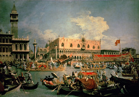 Bild-Nr: 31000163 Return of the Bucintoro on Ascension Day Erstellt von: Canal, Giovanni Antonio & Bellotto, Bernardo