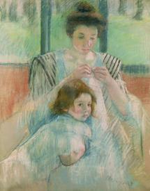 Bild-Nr: 31000177 Mother and child Erstellt von: Cassatt, Mary