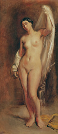 Bild-Nr: 31000214 Standing Female Nude, study for the central figure of 'The Tepidarium', 1853 Erstellt von: Chasseriau, Theodore