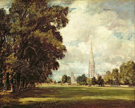 Bild-Nr: 31000239 Salisbury Cathedral from Lower Marsh Close, 1820 Erstellt von: Constable, John
