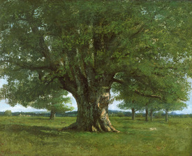 Bild-Nr: 31000314 The Oak of Flagey, called Vercingetorix Erstellt von: Courbet, Gustave