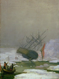 Bild-Nr: 31000424 Ship in the Polar Sea, 12th December 1798 Erstellt von: Friedrich, Caspar David