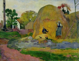 Bild-Nr: 31000484 Yellow Haystacks, or Golden Harvest, 1889 Erstellt von: Gauguin, Paul