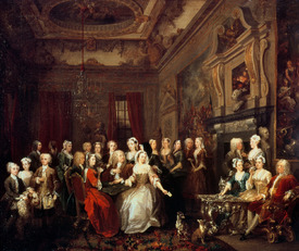 Bild-Nr: 31000647 The Assembly at Wanstead House Erstellt von: Hogarth, William