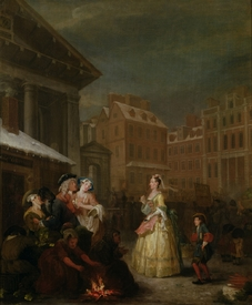 Bild-Nr: 31000649 The Four Times of Day: Morning, 1736 Erstellt von: Hogarth, William