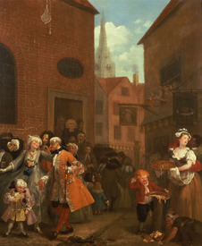 Bild-Nr: 31000651 The Four Times of Day: Noon, 1736 Erstellt von: Hogarth, William