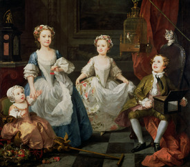 Bild-Nr: 31000652 The Graham Children, 1742 Erstellt von: Hogarth, William