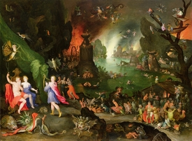 Bild-Nr: 31000697 Orpheus with a Harp Playing to Pluto and Persephone in the Underworld Erstellt von: Jan Brueghel der Ältere