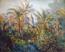 Bild-Nr: 31000853 Garden in Bordighera, Impression of Morning, 1884 Erstellt von: Monet, Claude