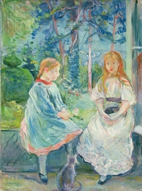 Bild-Nr: 31000926 Young Girls at the Window, 1892 Erstellt von: Morisot, Berthe