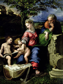 Bild-Nr: 31001001 The Holy Family of the Oak Tree, c.1518 Erstellt von: Raffaello Santi (Raffael)