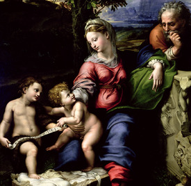Bild-Nr: 31001002 The Holy Family of the Oak Tree, c.1518 Erstellt von: Raffaello Santi (Raffael)