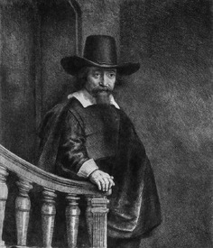 Bild-Nr: 31001025 Ephraim Bonus, known as 'The Jew with the Banister' 1647 Erstellt von: Rembrandt Harmenszoon van Rijn
