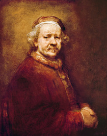 Bild-Nr: 31001067 Self Portrait in at the Age of 63, 1669 Erstellt von: Rembrandt Harmenszoon van Rijn