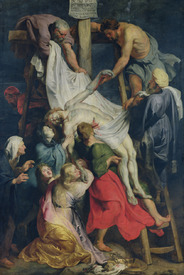 Bild-Nr: 31001213 Descent from the Cross, 1617 Erstellt von: Rubens, Peter Paul