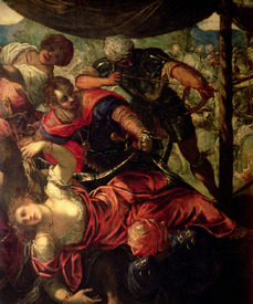 Bild-Nr: 31001242 Battle between Turks and Christians, c.1588/89 Erstellt von: Tintoretto, Jacopo