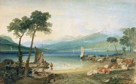 Bild-Nr: 31001265 Lake Geneva and Mont Blanc, 1802-5 Erstellt von: Turner, Joseph Mallord William