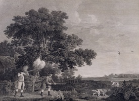 Bild-Nr: 31001425 Shooting, plate 3, engraved by William Woollett 1770 Erstellt von: Stubbs, George