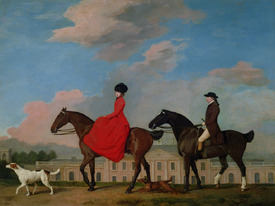 Bild-Nr: 31001435 John and Sophia Musters riding at Colwick Hall, 1777 Erstellt von: Stubbs, George