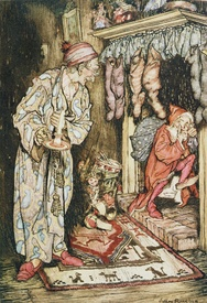 Bild-Nr: 31001449 Christmas illustrations, from 'The Night Before Christmas' by Clement C. Moore,  Erstellt von: Rackham, Arthur