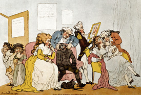 Bild-Nr: 31001481 'The Transplanting of Teeth', cartoon Erstellt von: Rowlandson, Thomas