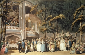 Bild-Nr: 31001486 Vauxhall Gardens from Ackermann's 'Microcosm of London', 1809 Erstellt von: Rowlandson, Thomas