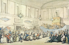 Bild-Nr: 31001495 The Ball, from 'Scenes at Bath' Erstellt von: Rowlandson, Thomas