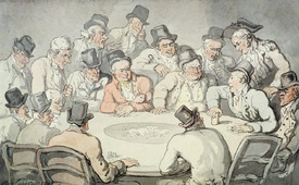 Bild-Nr: 31001503 The Gaming Table Erstellt von: Rowlandson, Thomas