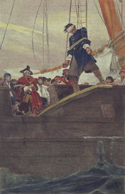Bild-Nr: 31001655 Walking the Plank, engraved by Anderson Erstellt von: Pyle, Howard