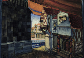 Bild-Nr: 31001661 Stage design for the opera 'The Maid of Orleans' by Pyotr Tchaikovsky , 1912 Erstellt von: Petrov-Vodkin, Kuzma Sergeevich