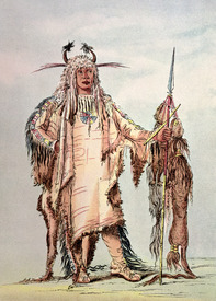 Bild-Nr: 31001700 Blackfoot Indian Pe-Toh-Pee-Kiss, The Eagle Ribs Erstellt von: Catlin, George