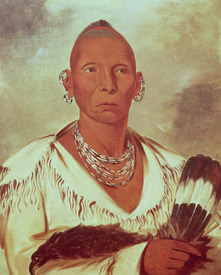 Bild-Nr: 31001704 Portrait of Black Hawk, Indian Chief Erstellt von: Catlin, George