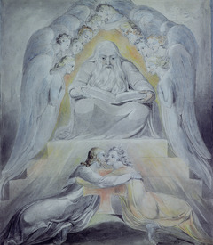 Bild-Nr: 31001754 Mercy and Truth are met together, Righteousness and Peace have kissed each other Erstellt von: Blake, William