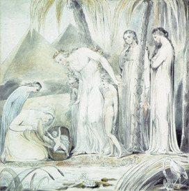Bild-Nr: 31001755 The compassion of Pharaoh's Daughter or The Finding of Moses, 1805 Erstellt von: Blake, William