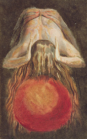 Bild-Nr: 31001757 And left a round globe of blood, Trembling upon the Void..., plate 11 from 'The  Erstellt von: Blake, William