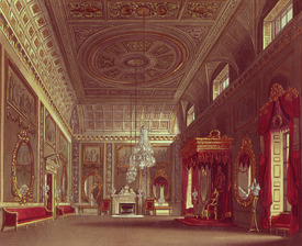 Bild-Nr: 31002061 The Saloon, Buckingham Palace from Pyne's 'Royal Residences', 1818 Erstellt von: Pyne, William Henry