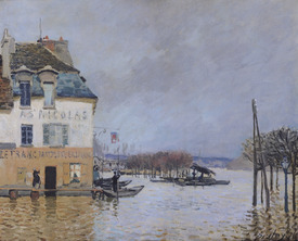 Bild-Nr: 31002098 The Flood at Port-Marly, 1876 Erstellt von: Sisley, Alfred