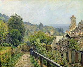 Bild-Nr: 31002106 Louveciennes or, The Heights at Marly, 1873 Erstellt von: Sisley, Alfred