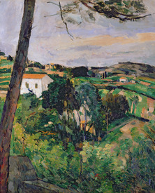 Bild-Nr: 31002183 Landscape with red roof or The pine at the Estaque, 1875-76 Erstellt von: Cezanne, Paul